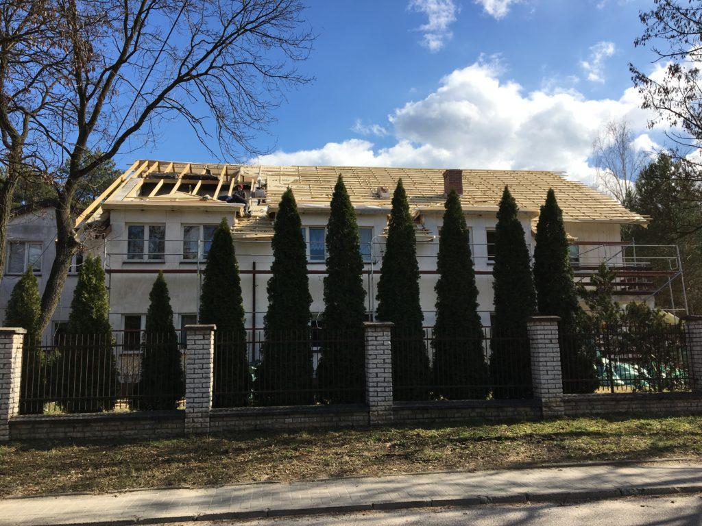 Remont dachu na Odrębnej