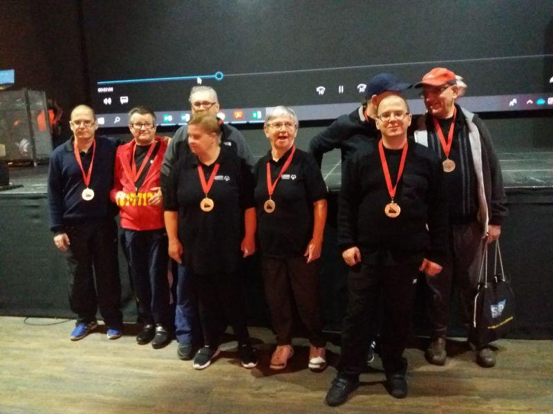 XIV Mazowiecki Turniej Bowlingowy Olimpiad Specjalnych Warszawa 24.10.2019